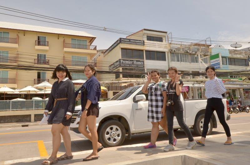 Dames thaïlandaises image libre de droits