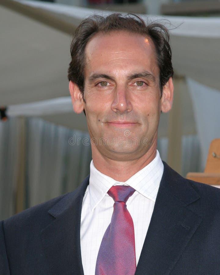 Damian Young de Reeks Los Angeles, CA 1 Juni, 2005 van de Première HBO van de Terugkeer royalty-vrije stock afbeeldingen
