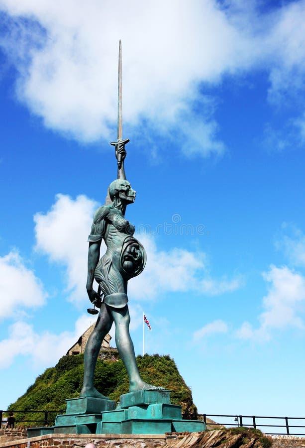 Damien Hurst prawdy rzeźba obrazy royalty free