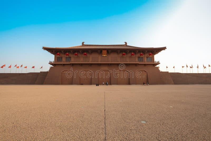县daming的宫殿 库存图片