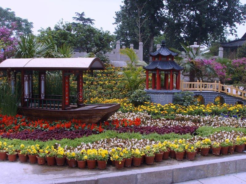 Daming Lake es ciudad de Jinan de China imagen de archivo libre de regalías