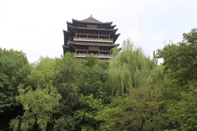 Daming Lake, Jinan-Stadt, Shandong-Provinz, China-Park lizenzfreie stockbilder