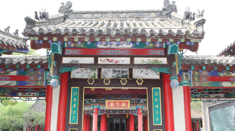 Daming Lake, Jinan-Stadt, Shandong-Provinz, China-Park stockfotos