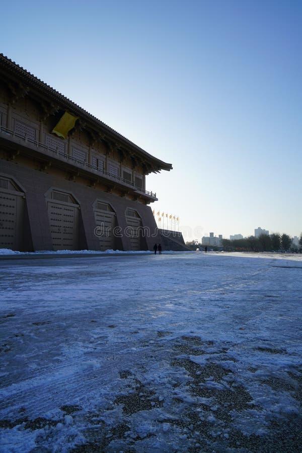 Daming pałac relikwii parka XI. ` Shaanxi Chiny obrazy stock