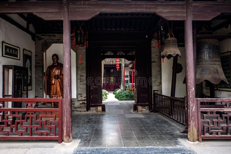 Daming Temple em Yangzhou imagens de stock royalty free
