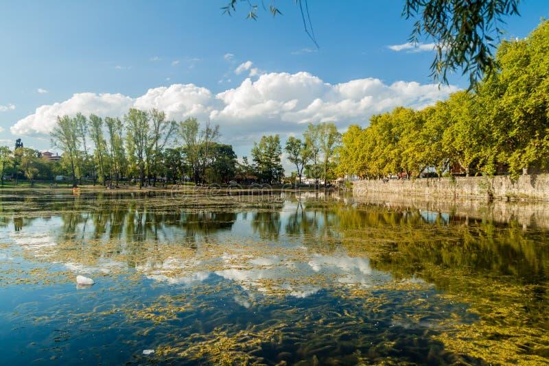 Damm i den Alta Gracia staden, Argenti arkivfoto