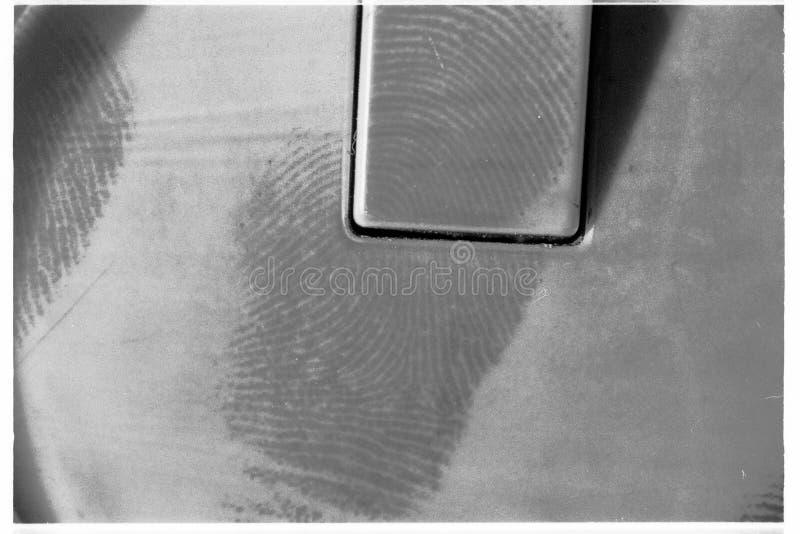 dammat av fingeravtryck royaltyfri fotografi