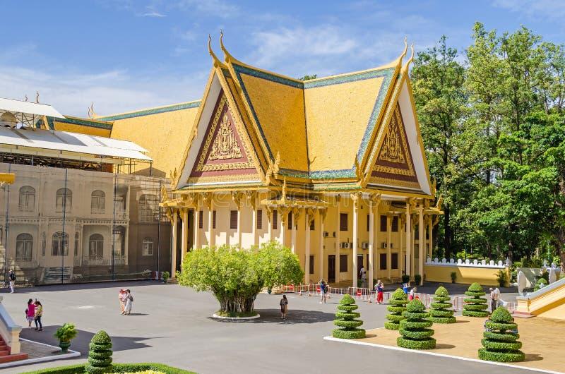 Damnak Chan - kompleks administracyjni biura wśrodku pałac królewskiego obraz stock