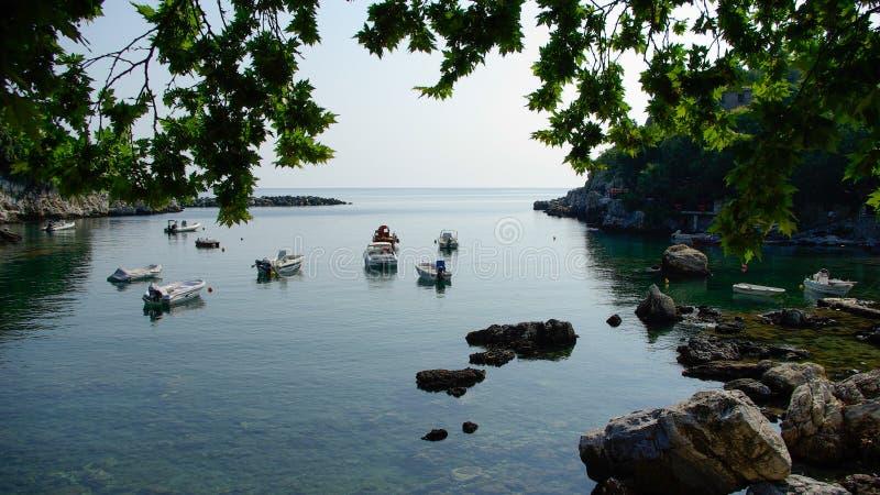 Damouchari, Pelion, Ελλάδα στοκ φωτογραφία