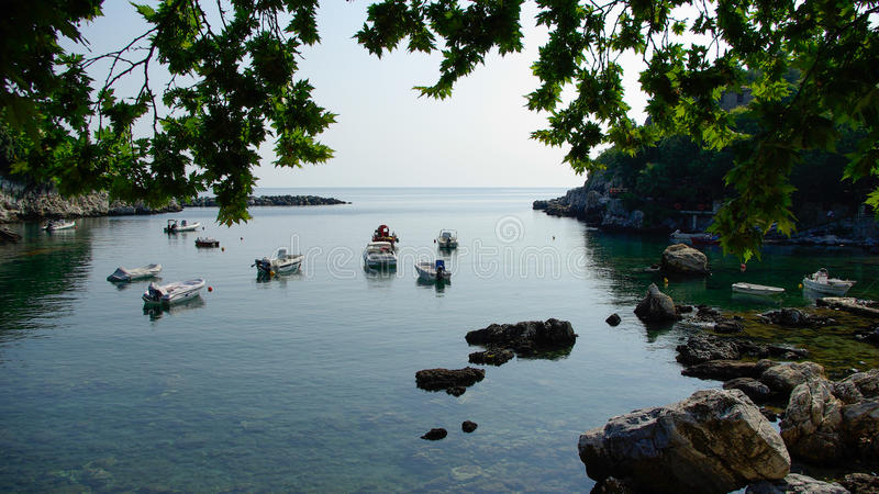 Damouchari, Pelion, Griekenland stock fotografie