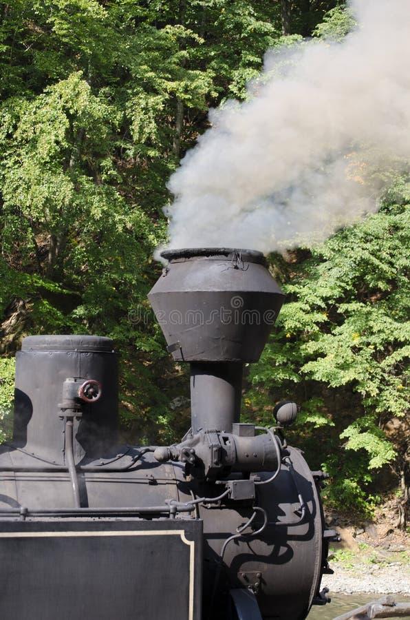 Dampf-Lokomotivdetail lizenzfreies stockbild