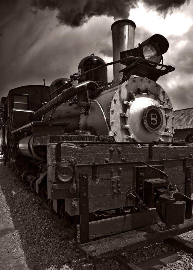 Dampf-Lokomotive stockfotos