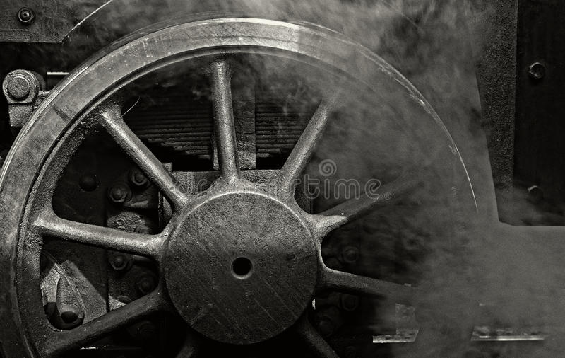 Dampf-Maschine lizenzfreie stockfotos