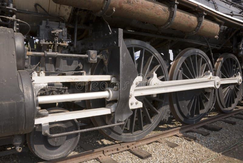 Dampf-Motorserienräder lizenzfreies stockfoto