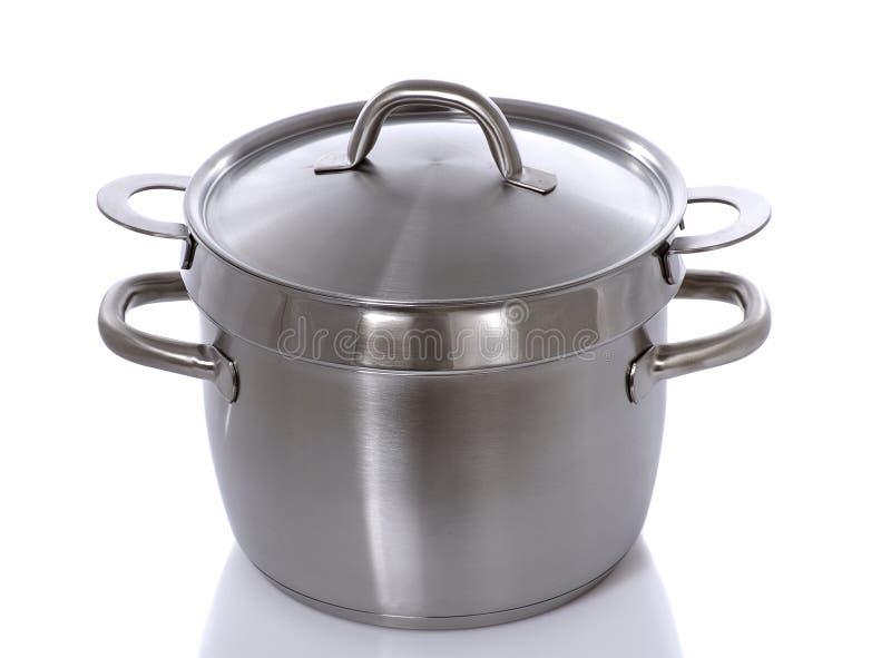 Dampfkocher stockfoto. Bild von potentiometer, kasserolle - 3996204