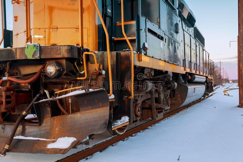 Dampflokomotivbetrieb stockfotografie