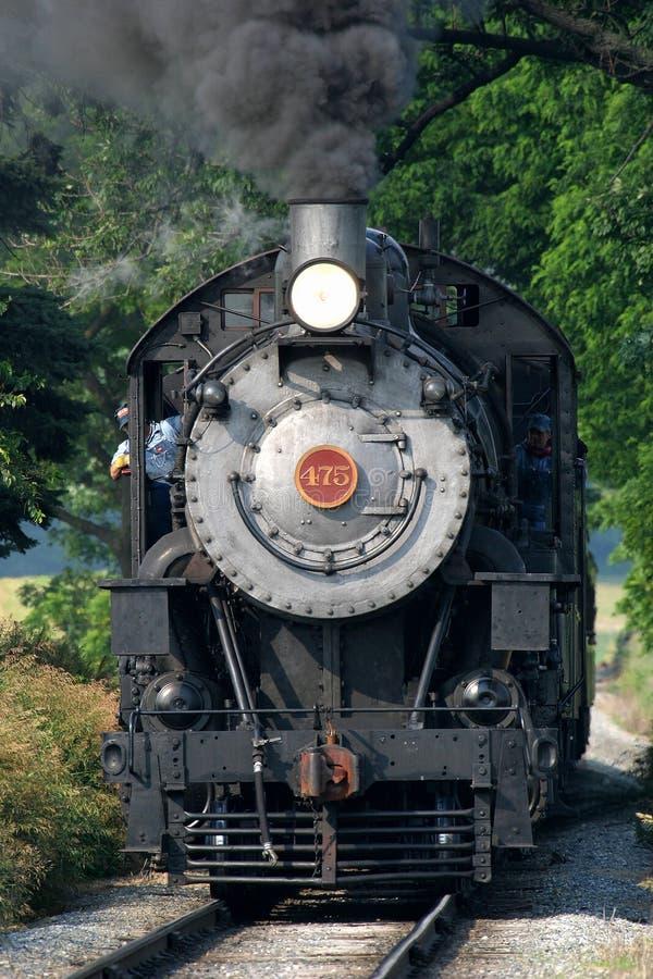 Dampflokomotive stockbilder
