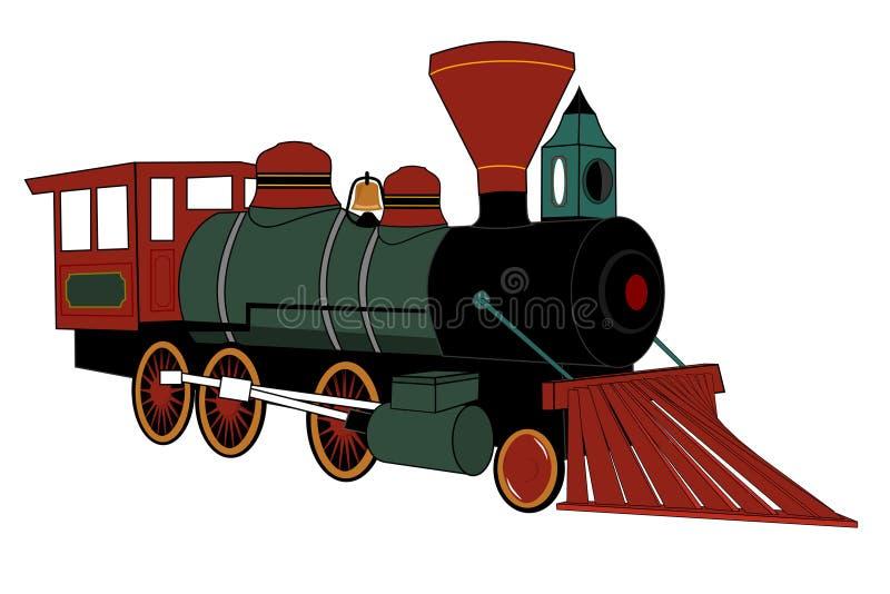 Dampflokomotive lizenzfreie abbildung