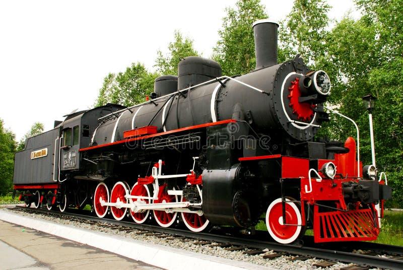 Dampflokomotive, Basisrecheneinheit lizenzfreie stockbilder