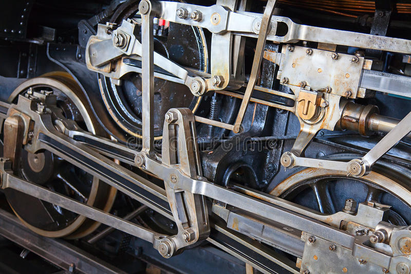 Dampfmotorserie lizenzfreies stockfoto