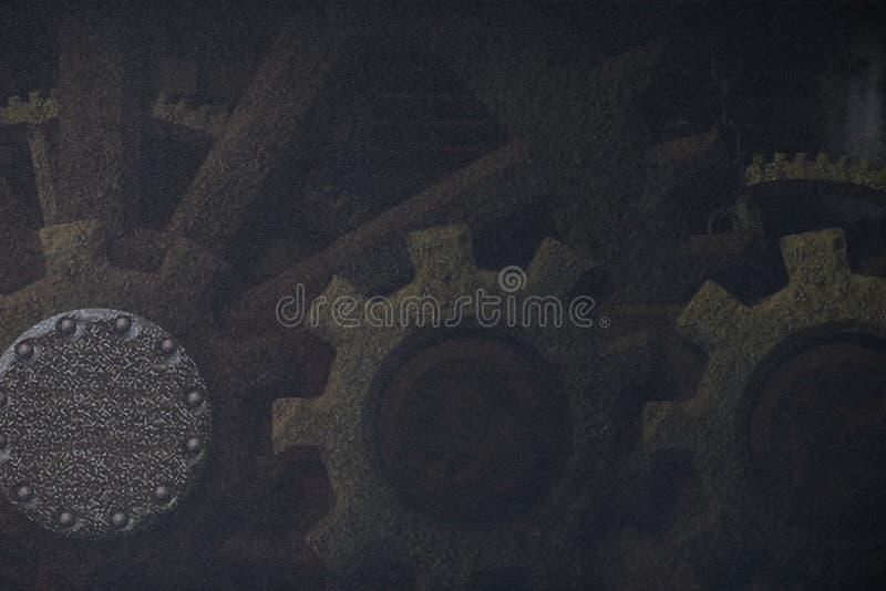 Dampfpunk Hintergrund lizenzfreie stockfotografie