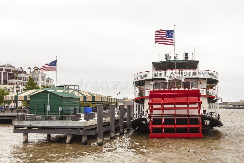 Dampfschiff Natchez in New Orleans lizenzfreie stockbilder