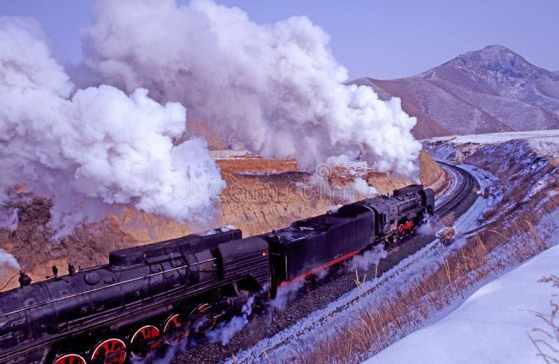 Dampfserie stockbilder