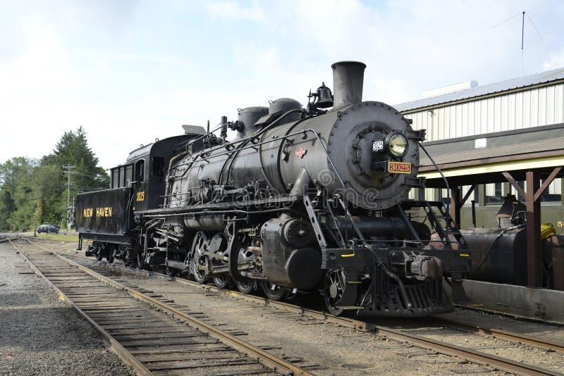 Dampfserie der Essex Lokomotive 3025 stockfotografie