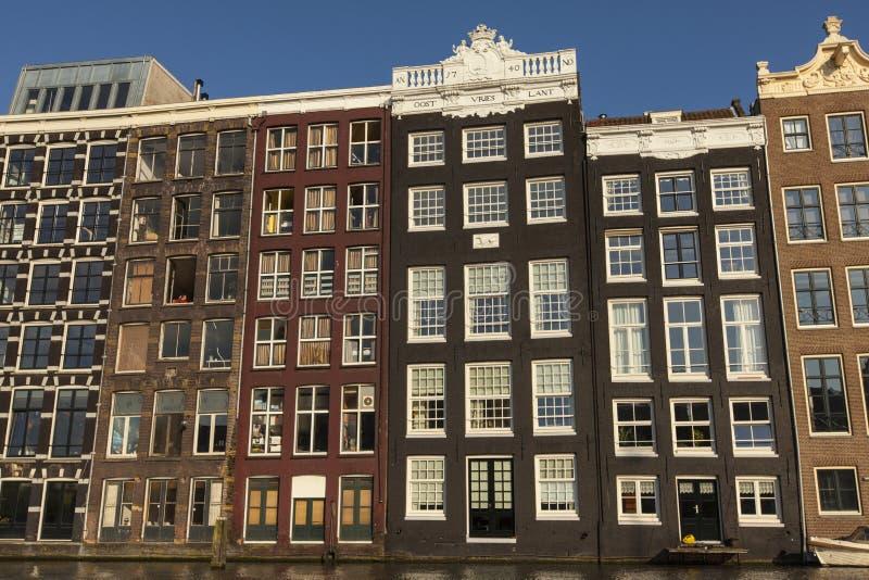 Damrak Amsterdam fotografie stock libere da diritti