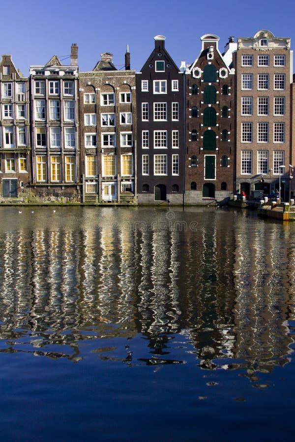 Damrak, Amsterdam lizenzfreies stockfoto