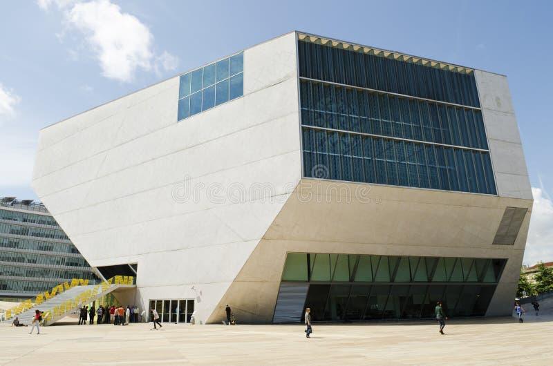 DAmusica van Casa in porto Portugal stock foto