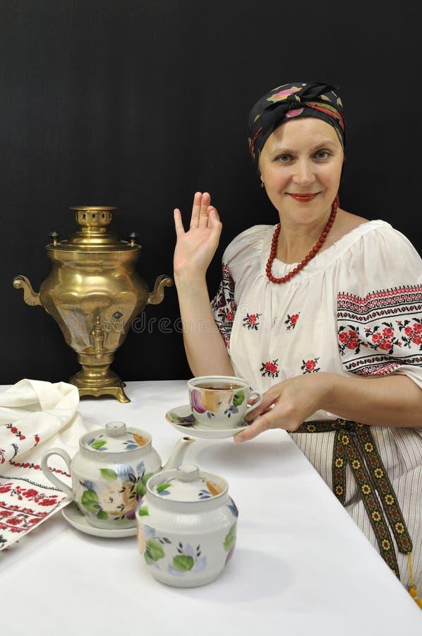 damy herbata zdjęcia royalty free
