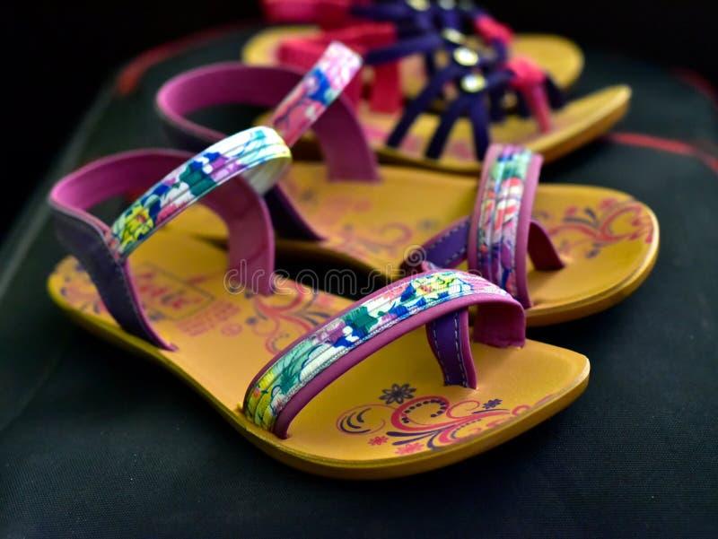 Damy obuwia mody przedmiota fotografia fotografia royalty free