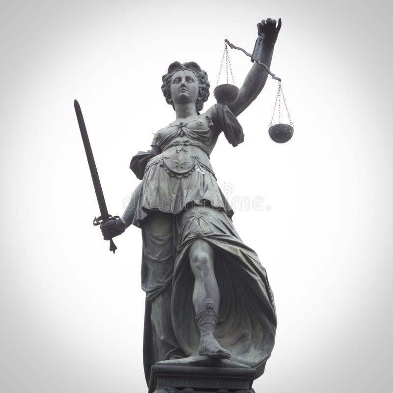 Damy sprawiedliwość fotografia stock