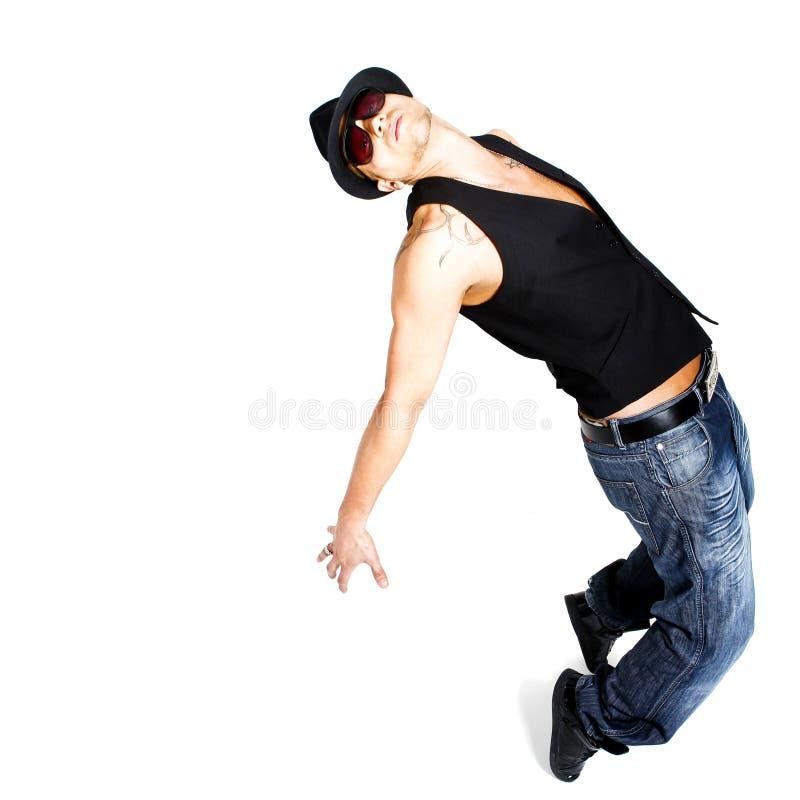 Dança à moda foto de stock