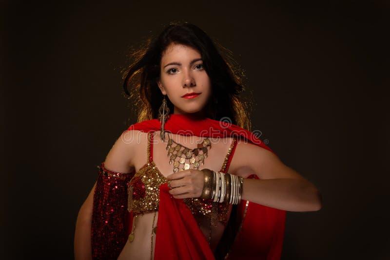 Dança árabe fotografia de stock royalty free