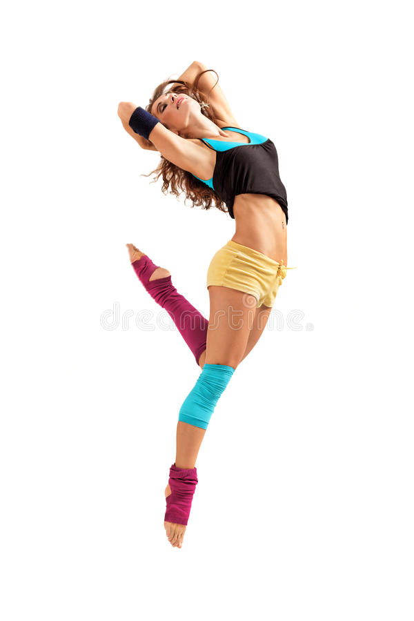 Dança foto de stock