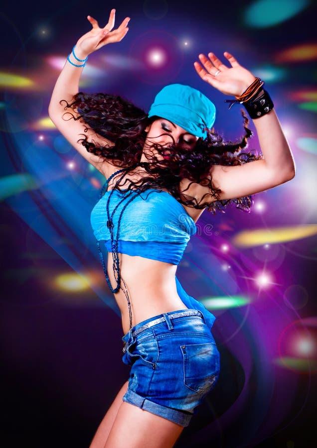 Dança 7 do disco imagens de stock