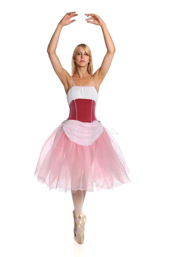 Dança da bailarina imagem de stock royalty free