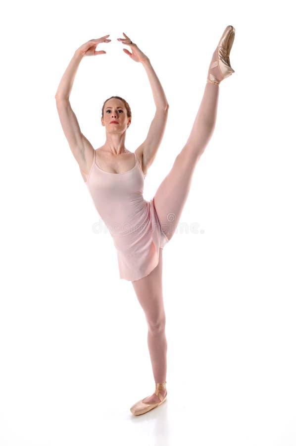 Dança da bailarina imagem de stock