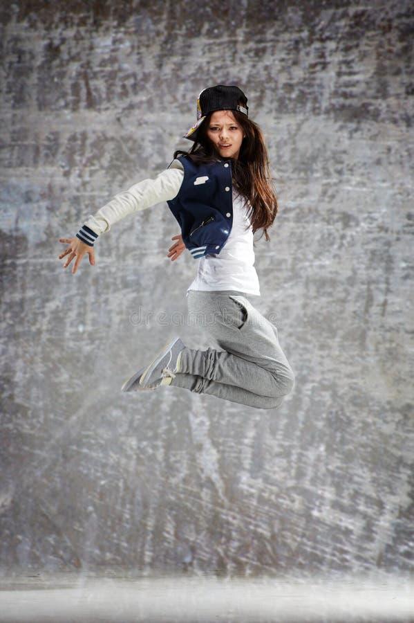 Dança da gravidade zero imagens de stock royalty free