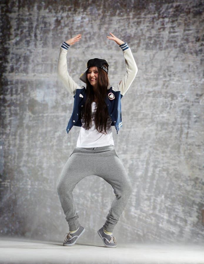 Dança da gravidade zero fotografia de stock royalty free