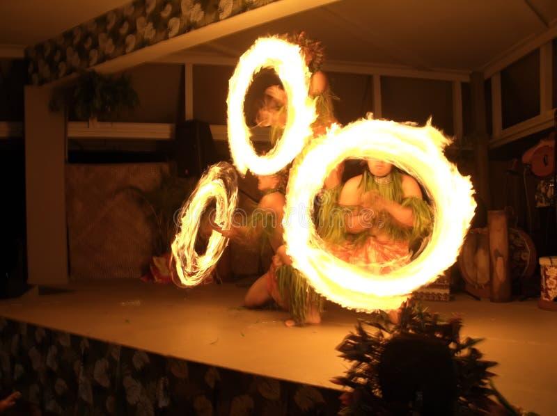 Dança da Incêndio-Faca fotos de stock royalty free