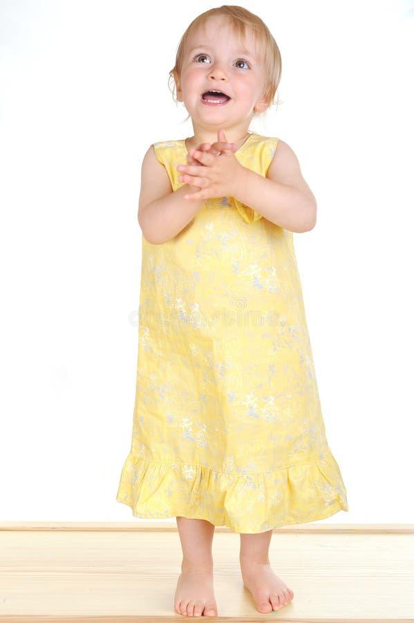 Dança da menina imagens de stock
