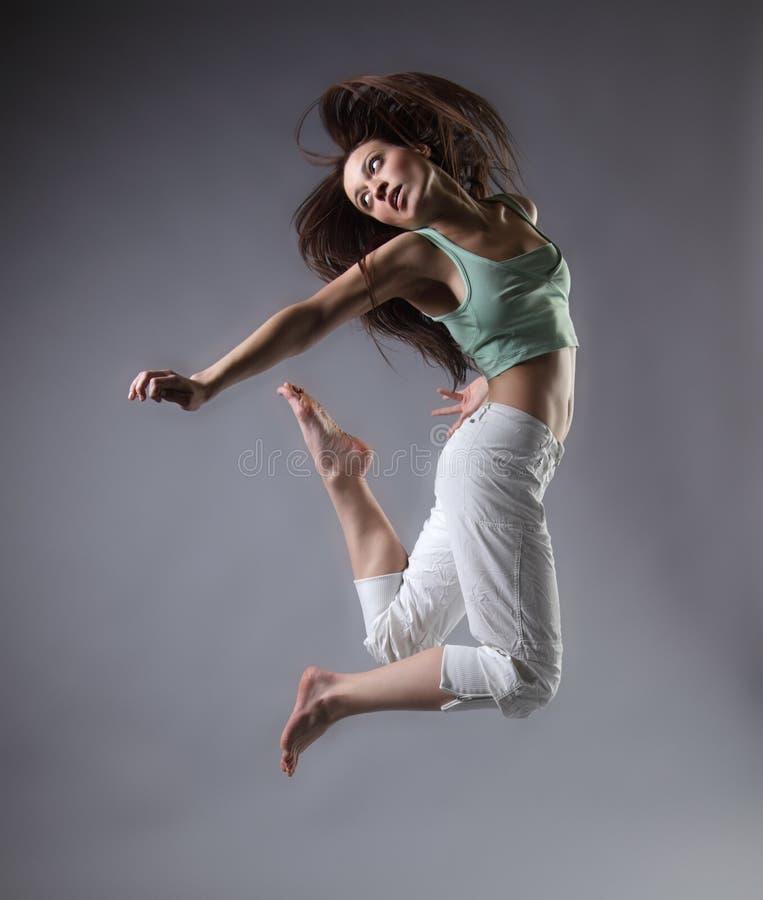 dança da menina fotos de stock