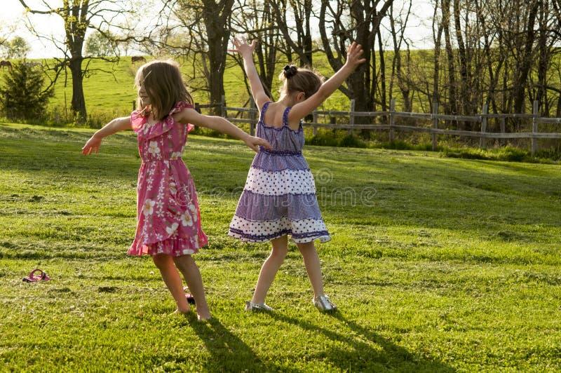 Dança das crianças foto de stock royalty free