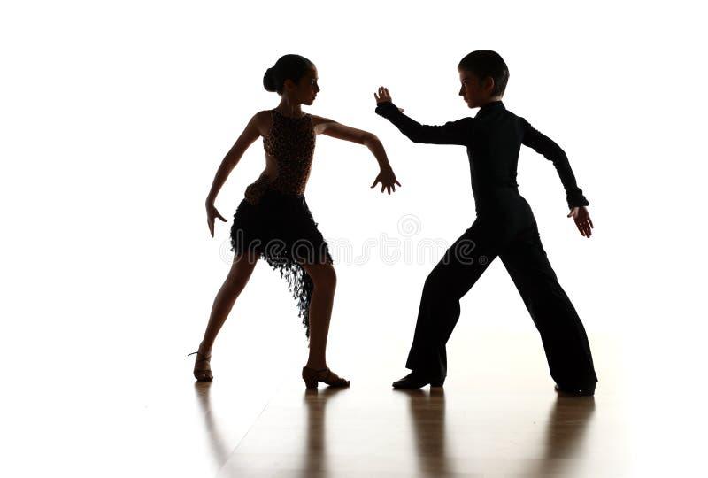 Dança das crianças fotografia de stock