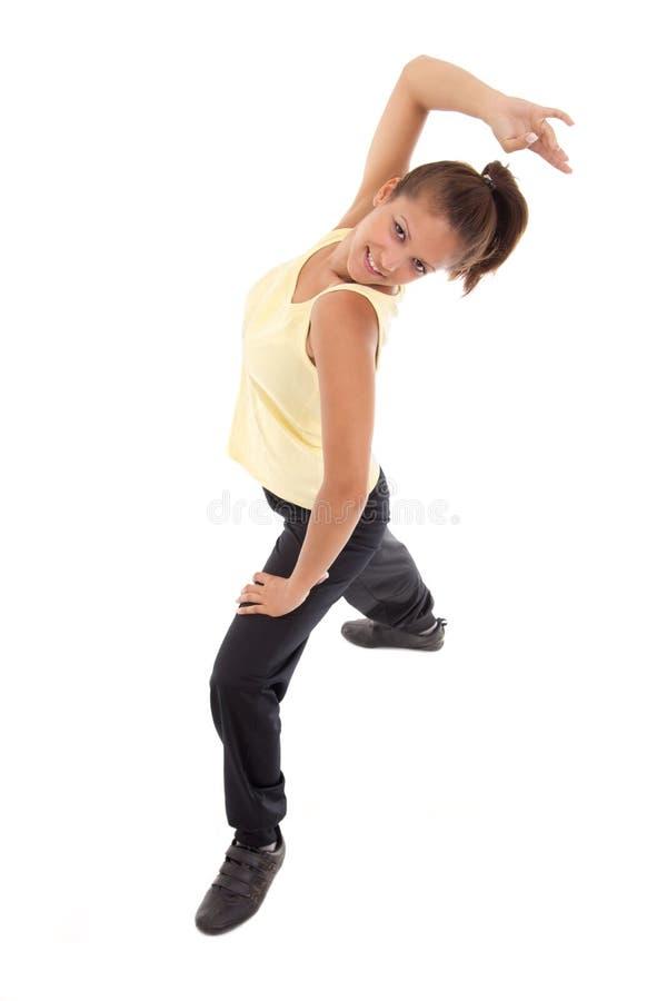 Dança das meninas foto de stock royalty free