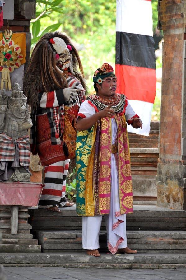 Dança de Barong em Bali fotos de stock