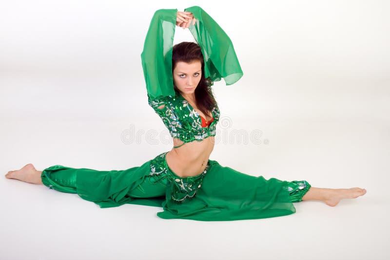 Dança de barriga fotografia de stock